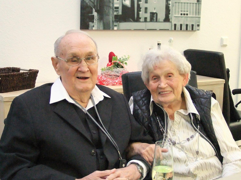 Heinrich (93) und Anna (90) Burgdorf
