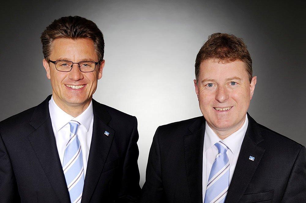 (v. l.) Stephan Schäffer und Dr. Armin Schwarze.