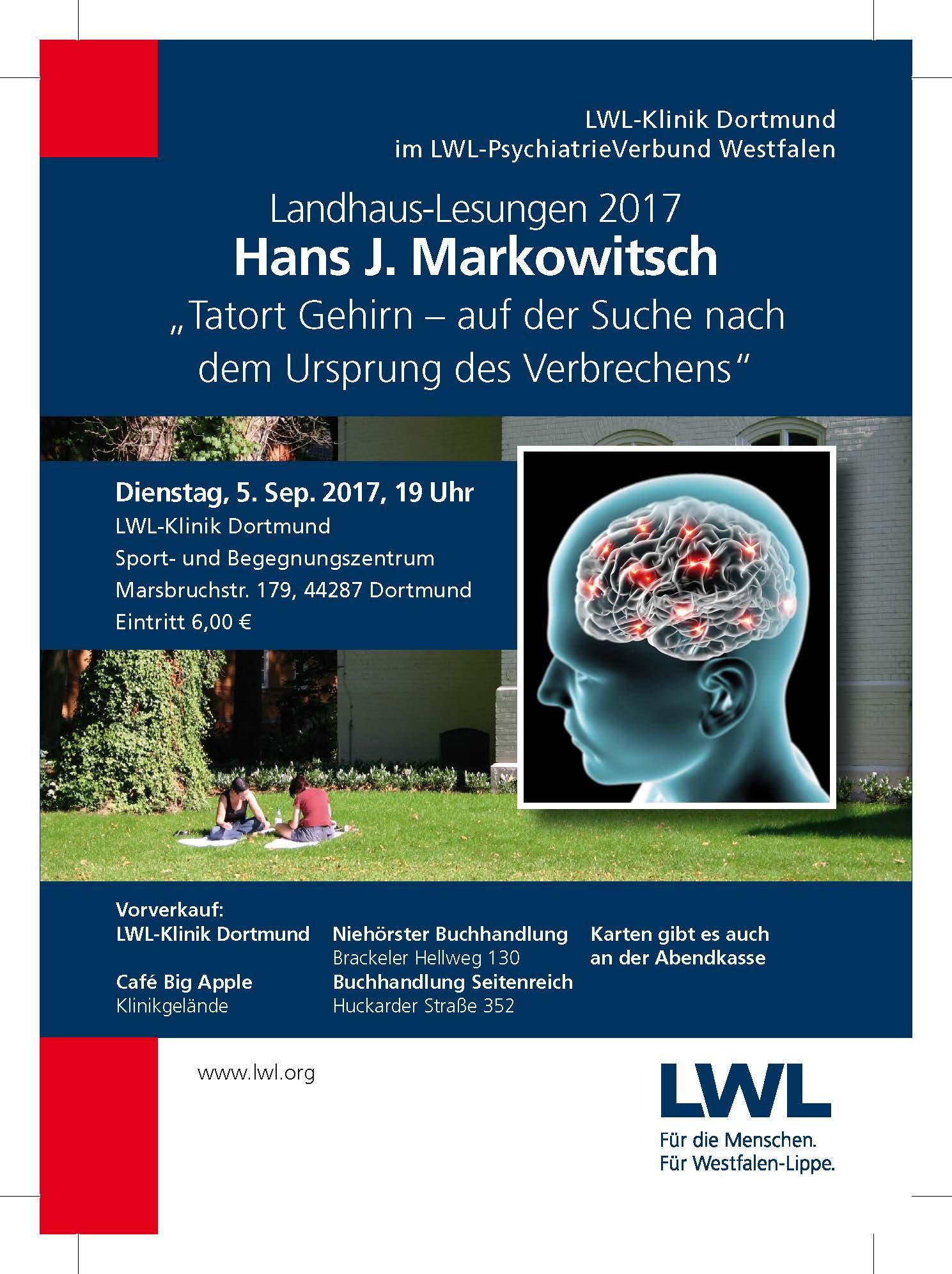 """Spannung bei zwei Landhaus-Lesungen in der LWL-Klinik: Psychiater und Psychologen auf der Suche nach dem """"Täter-Profil"""""""