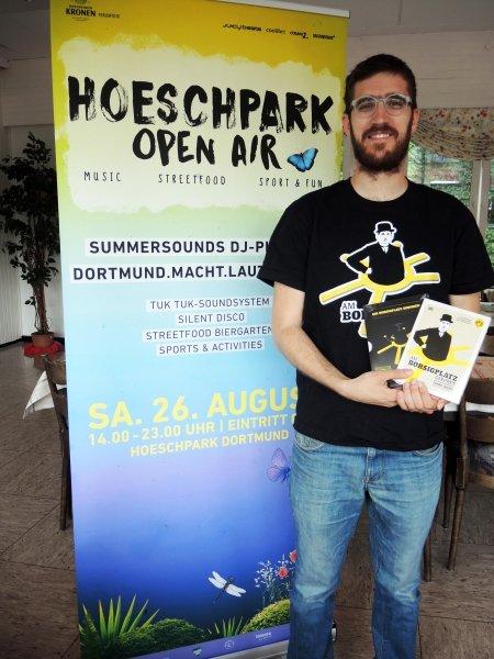 Musik, Streetfood, Sport und Fun – Open-Air-Festivals im Hoeschpark