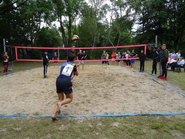 Platzierungen des Beach-Volleyball-Turniers
