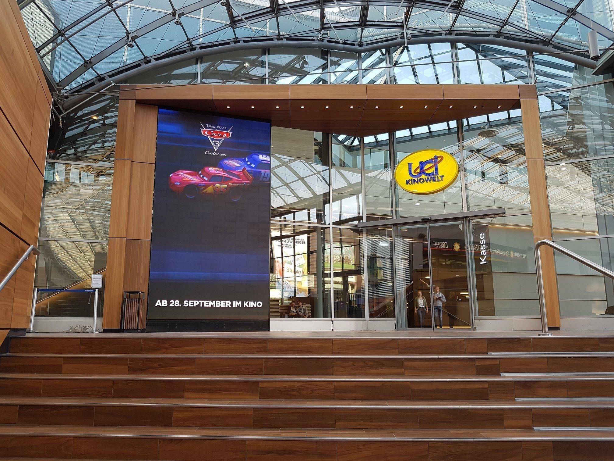 Umbauarbeiten in der UCI KINOWELT Ruhr Park sind abgeschlossen