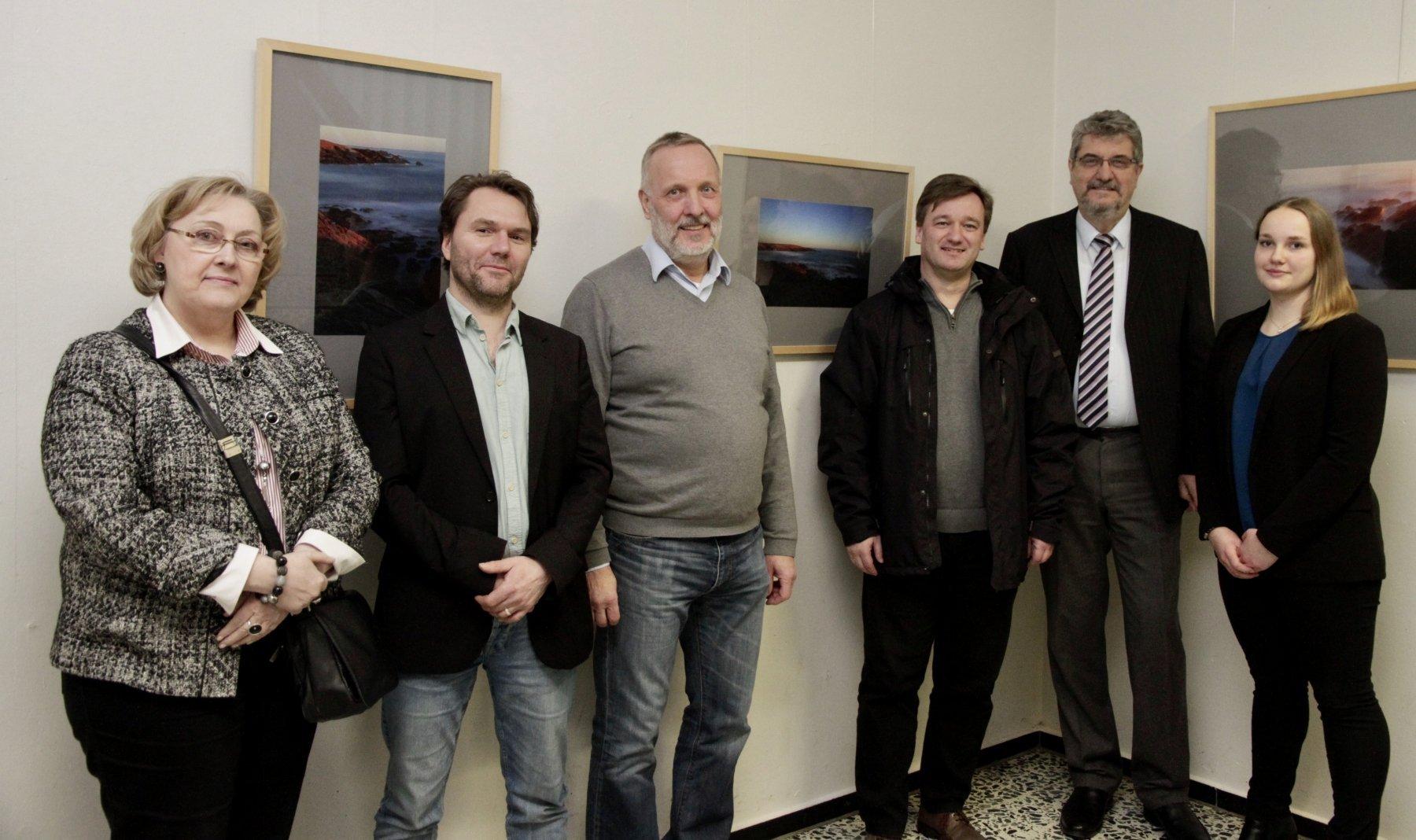 (v. l.) Christel Stegemann, Klaus Preukschat, Dr. Heinz Udo Brenk, Thomas Tölch, Dr. Detlef von Elsenau und Ilka Bielefeldt (Fotos: IN-Stadtmagzine)