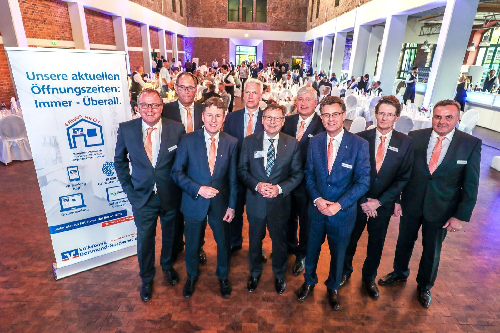 130 Jahre in der Region: Vertreterversammlung der Volksbank Dortmund-Nordwest eG