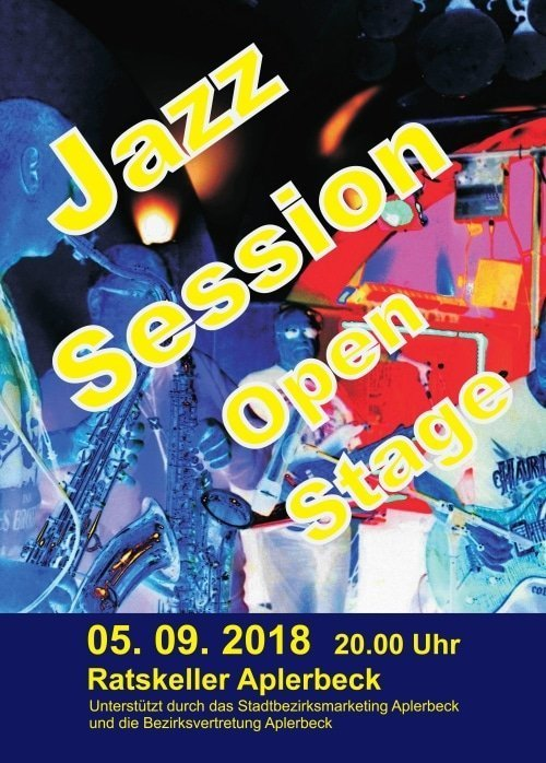 Jazz - Session - Open Stage im Ratskeller Aplerbeck
