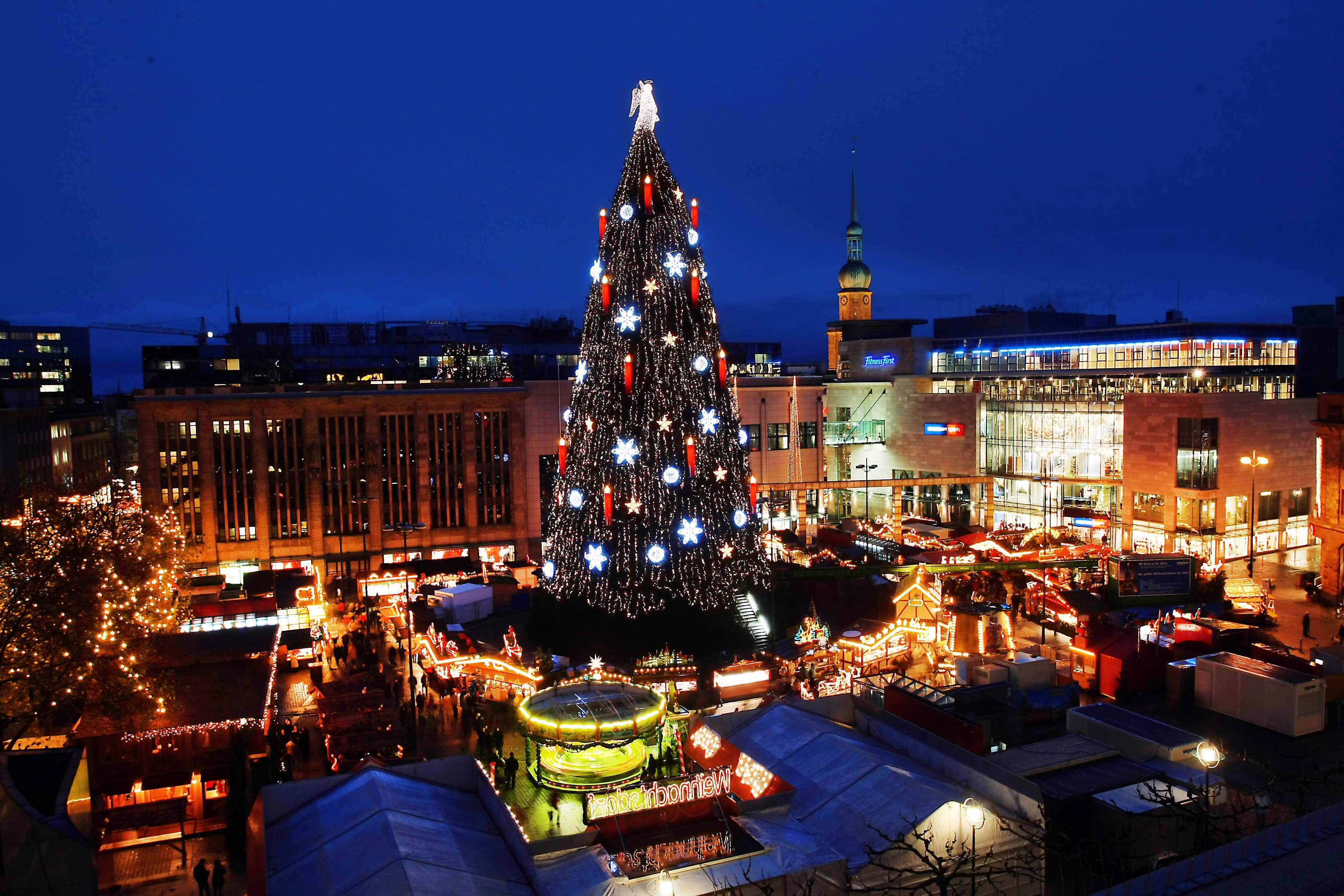 öffnungszeiten Dortmunder Weihnachtsmarkt.120 Dortmunder Weihnachtsmarkt Beginnt Am Donnerstag In