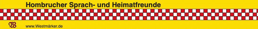 Hombrucher Sprach- und Heimatfreunde laden ein
