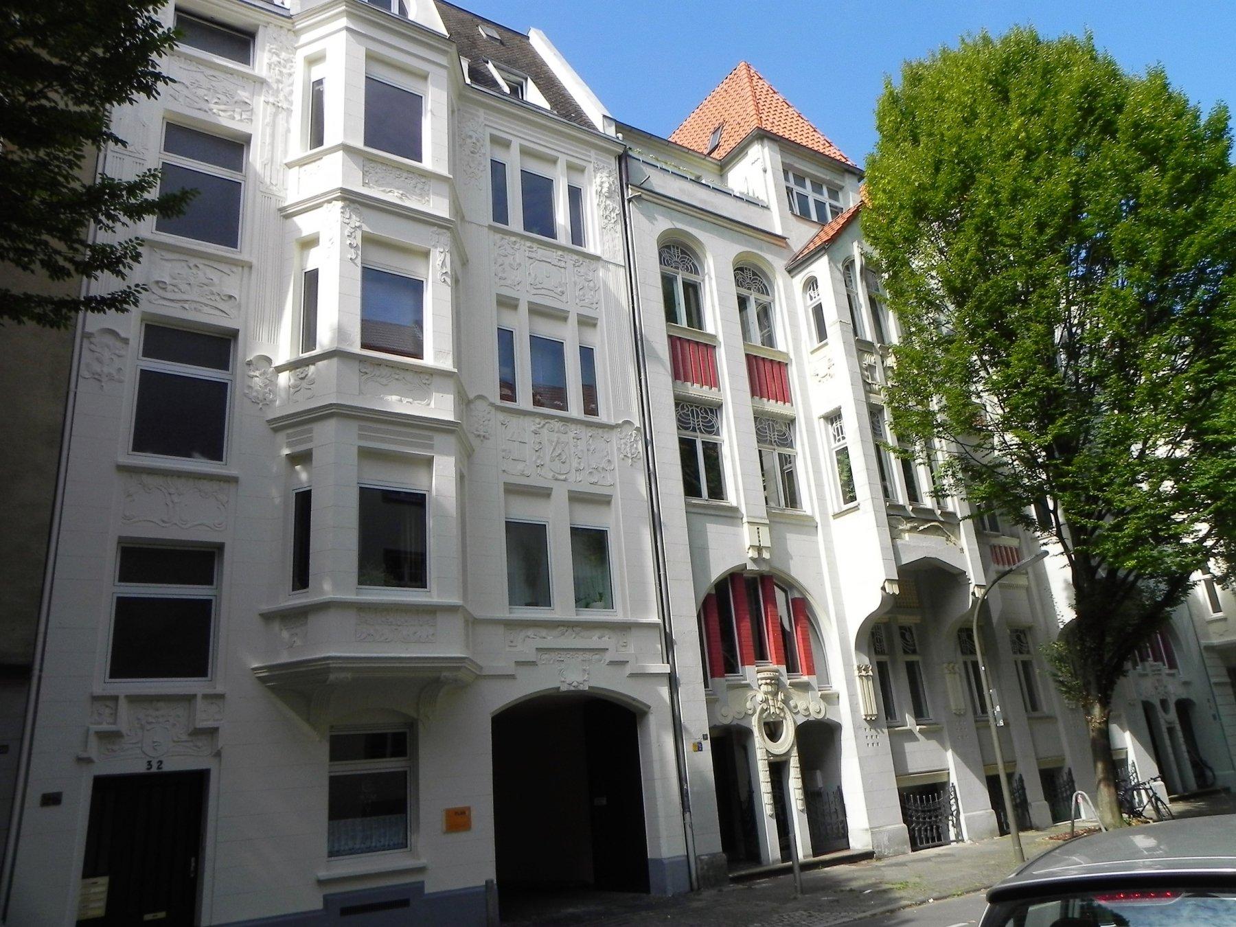 Foto: Wolfgang Kienast, Kaiserstraßenviertel, Jugendstil