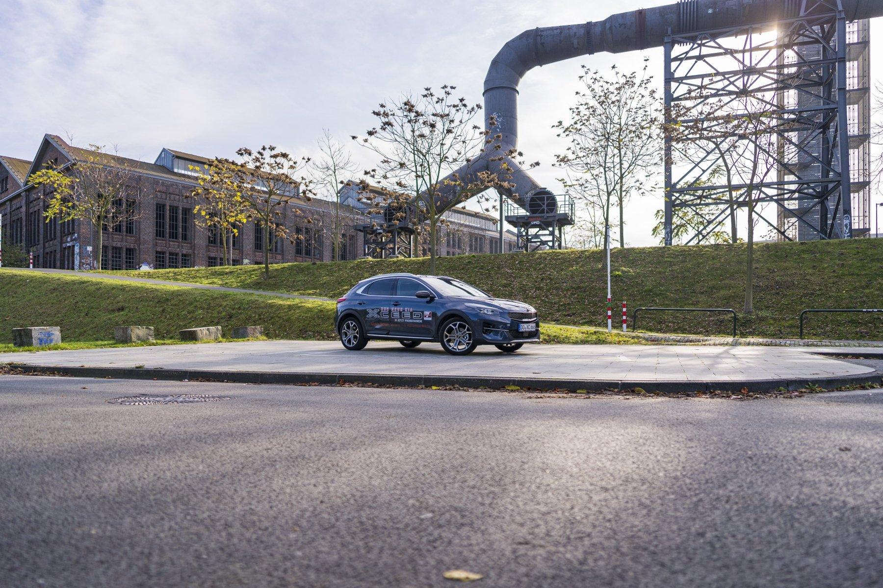 Kia XCeed: sportliche SUV-Alternative mit völlig eigenständigem, in Deutschland entwickeltem Design. (Fotos: IN-StadtMagazine)