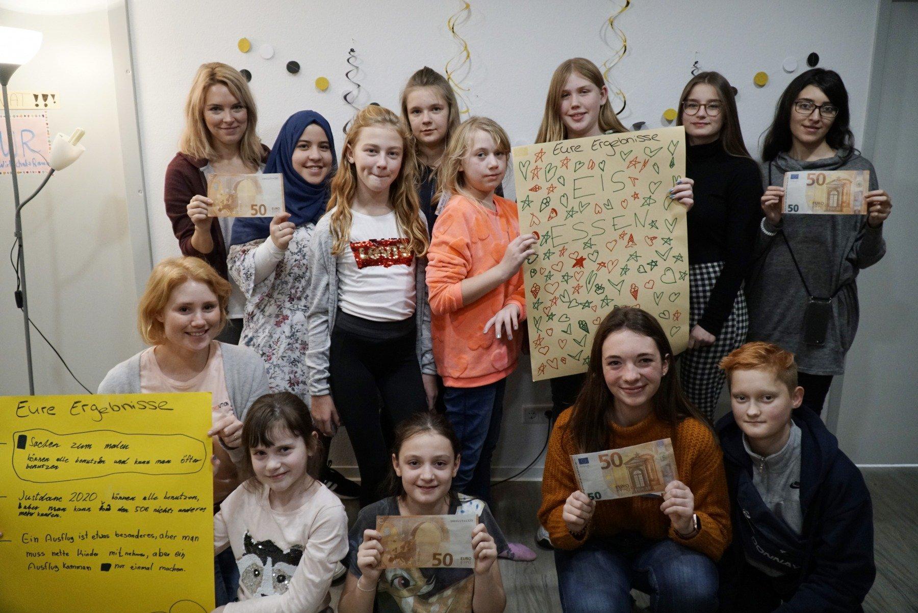 Was kann eine Gruppe von Kindern und Jugendlichen mit 50 Euro machen? (Foto: IN-StadtMagazine)