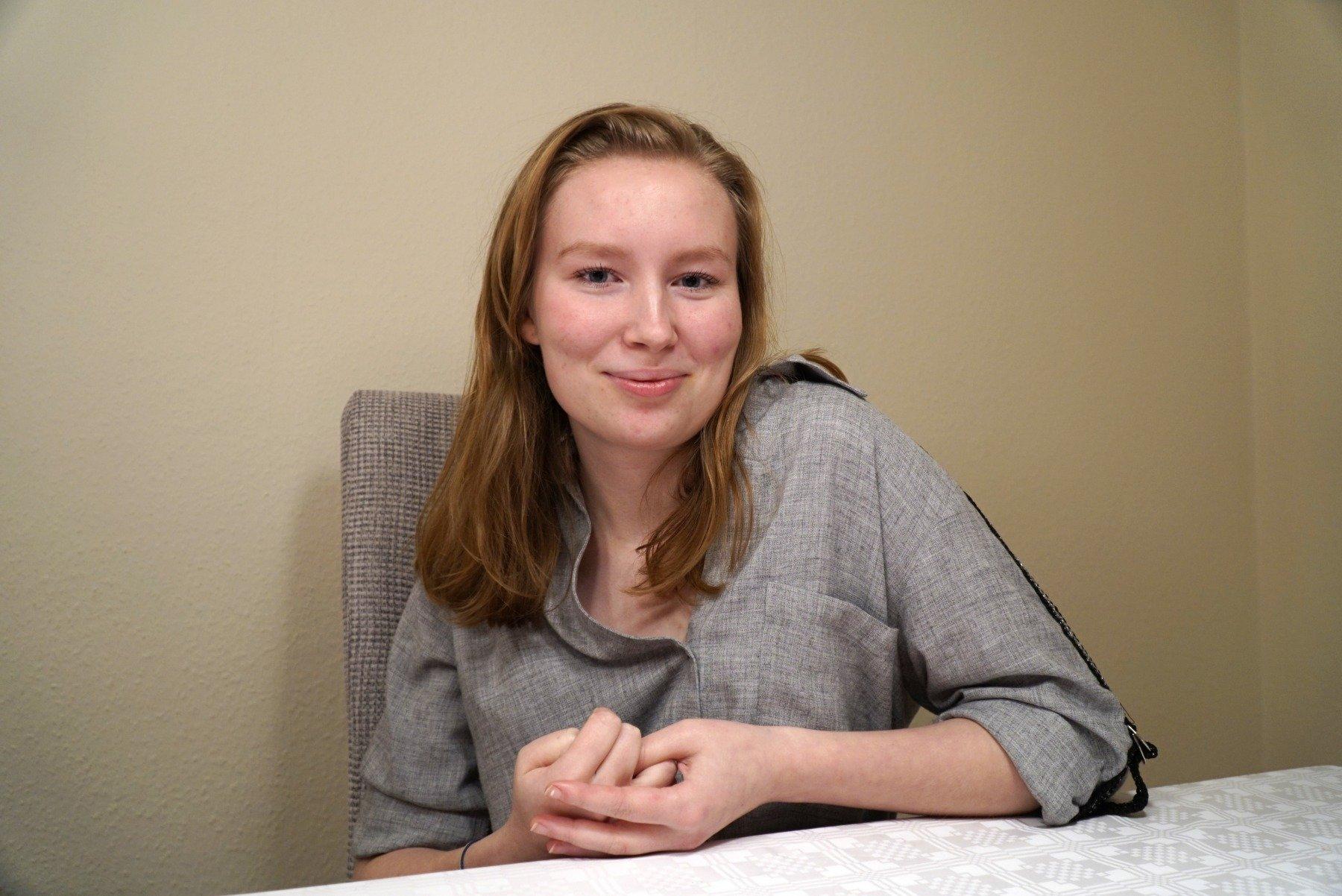 Janica Becker schrieb ihren Debütroman über den Ukraine-Konflikt. (Foto: IN-StadtMagazine)