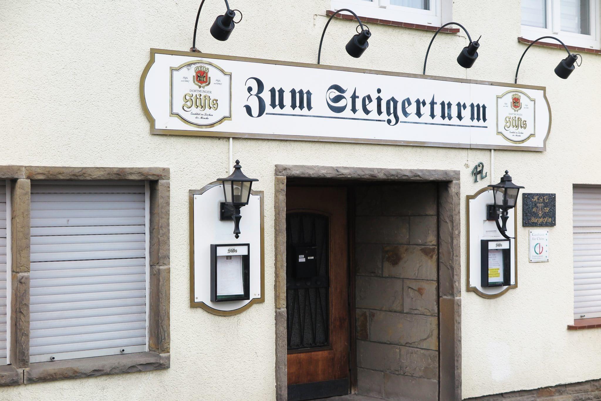 """Die beliebte Kneipe """"Zum Steigerturm"""" soll abgerissen werden. (Fotos: IN-StadtMagazine)"""