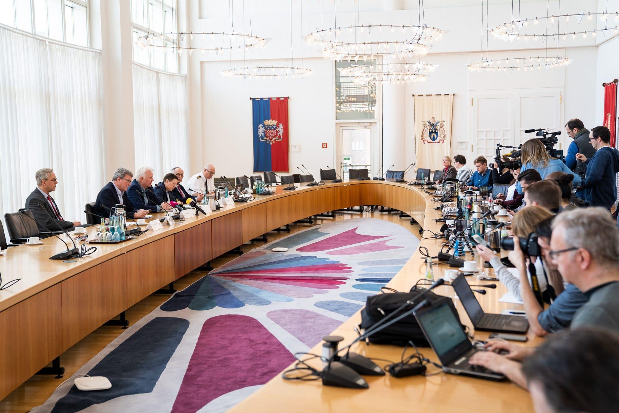 Pressekonferenz am vergangenen Freitag im Rathaus der Stadt Dortmund (Fotos: IN-Stadtmagazine)