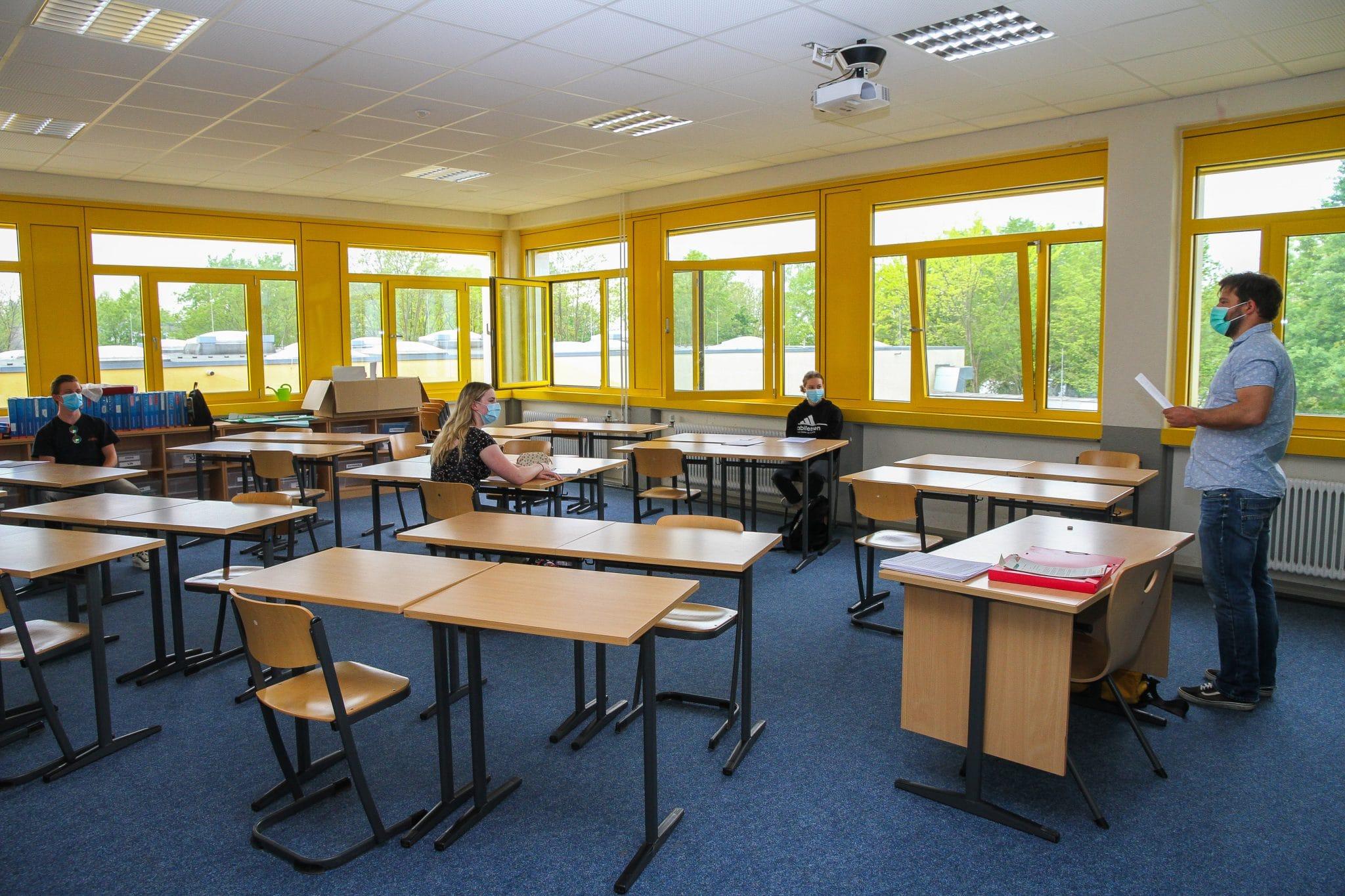 Erfolgreicher Unterricht-Neustart am HHG