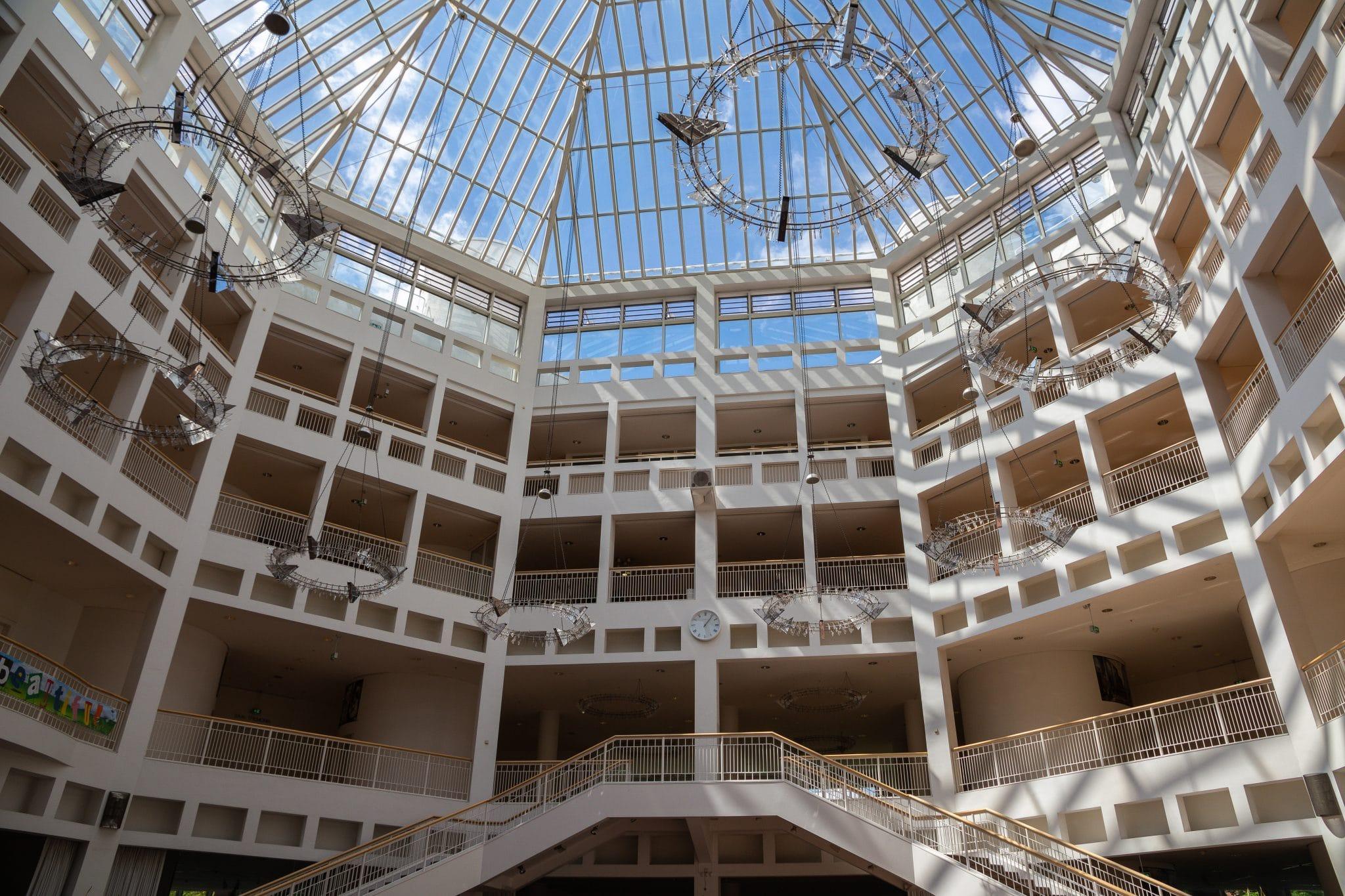 Die Pressekonferenz war die vorerst letzte im Rathaus, das demnächst 2 Jahre lang umgebaut werden soll. (Foto: IN-StadtMagazine)