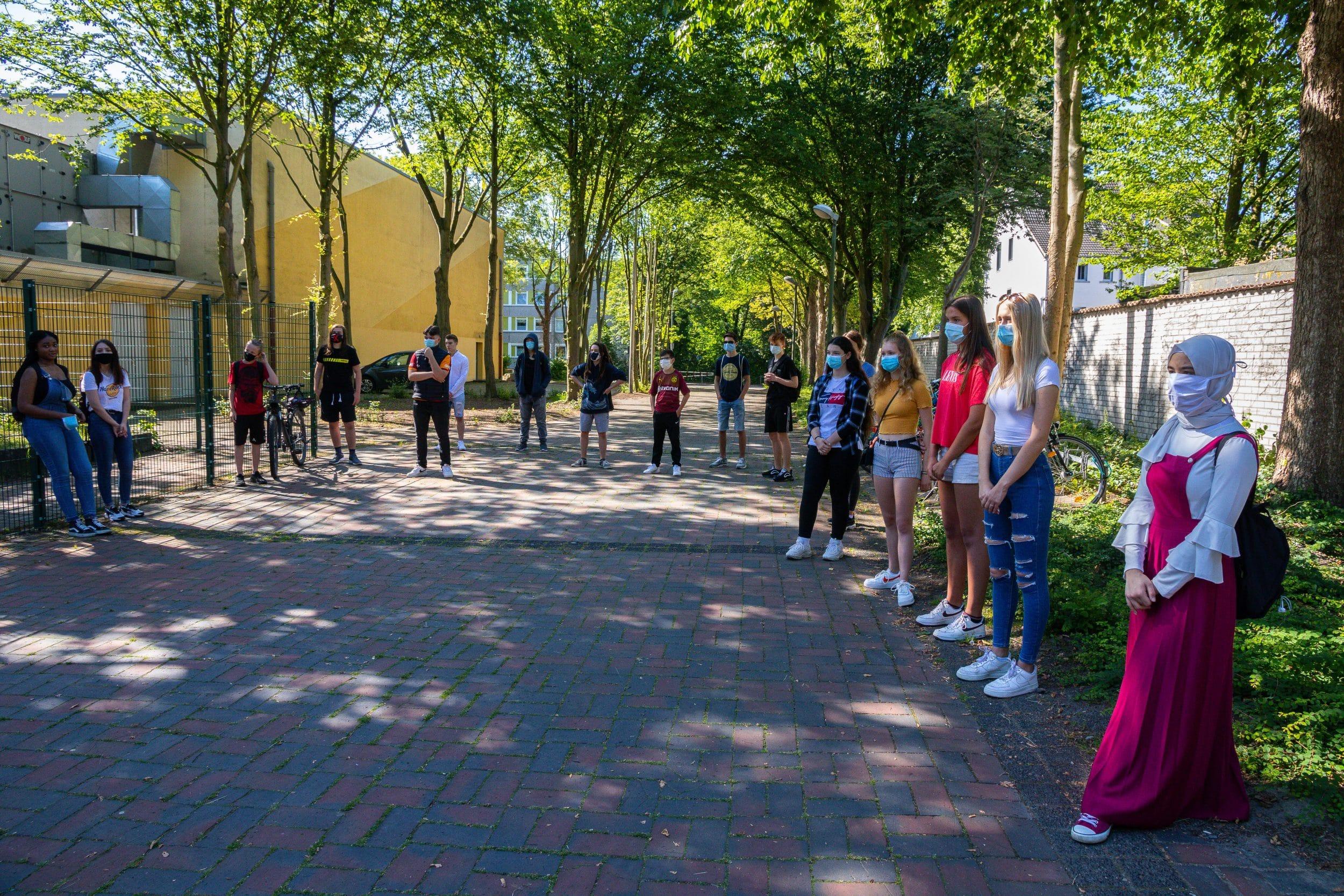 Wohnen in der Zukunft – Schüler des HHG stellten neues Projekt vor