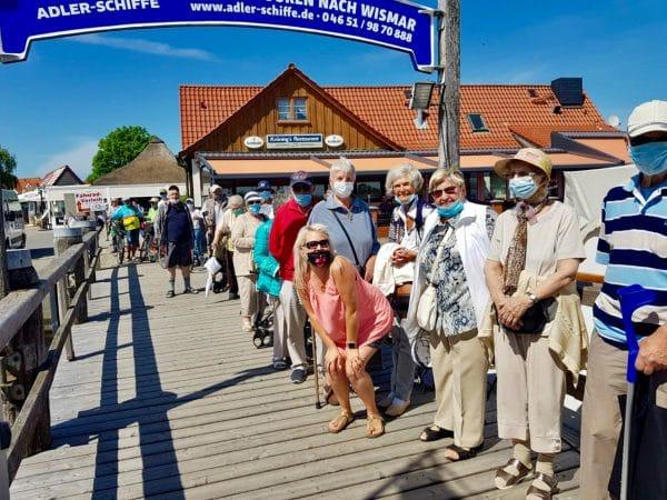 Ostseereise mit dem mobilen Pflegedienst Ovital trotzt Corona