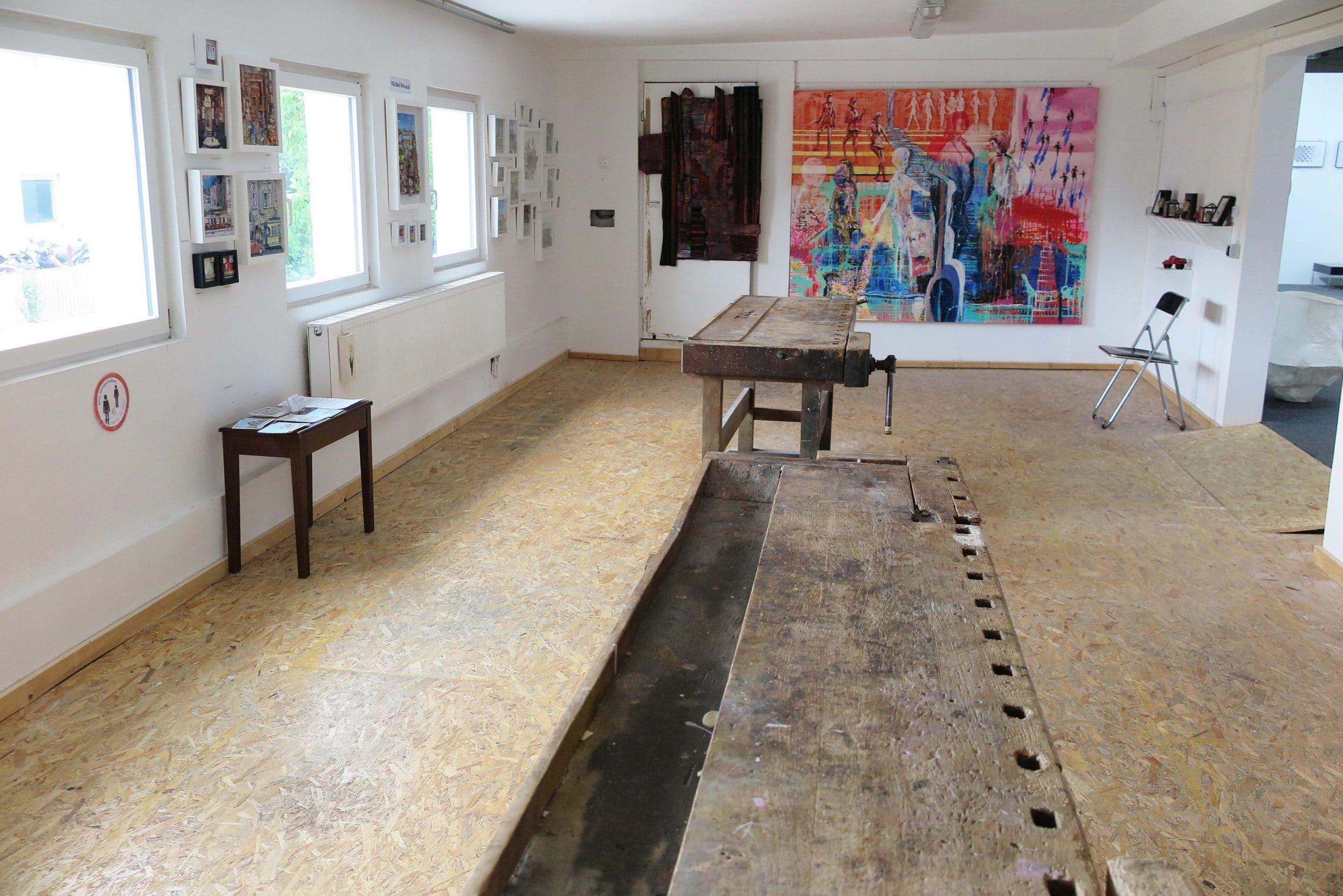 Kunsthalle in Schüren zeigt auch in den Ferien viel Kunst