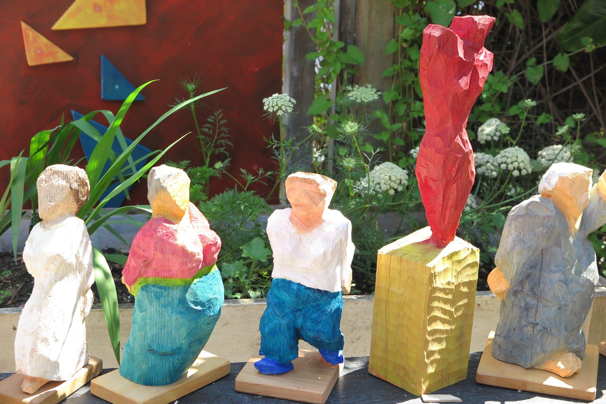 """""""Querschläger"""" überraschten im Kunstgarten"""
