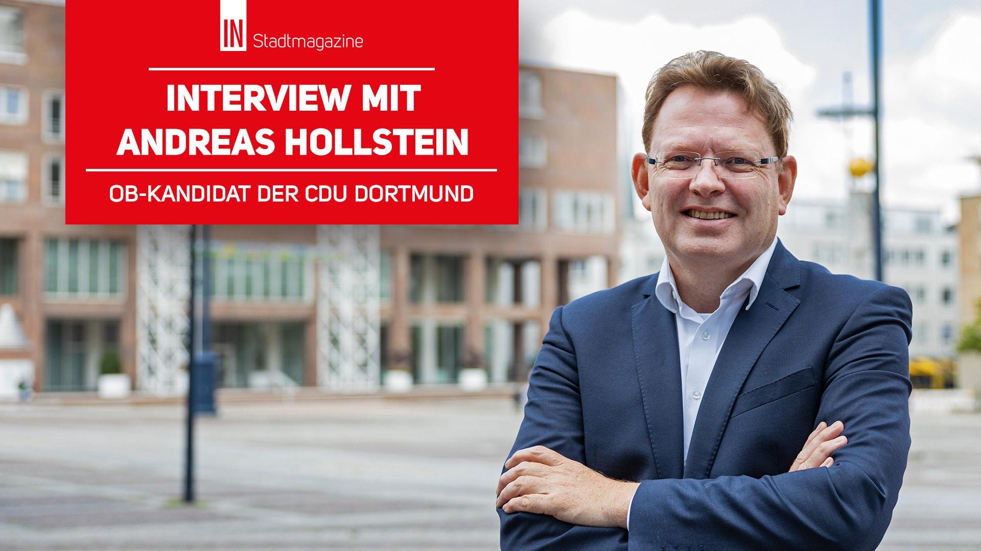 Kommunalwahl 2020: CDU-Oberbürgermeister-Kandidat Dr. Andreas Hollstein