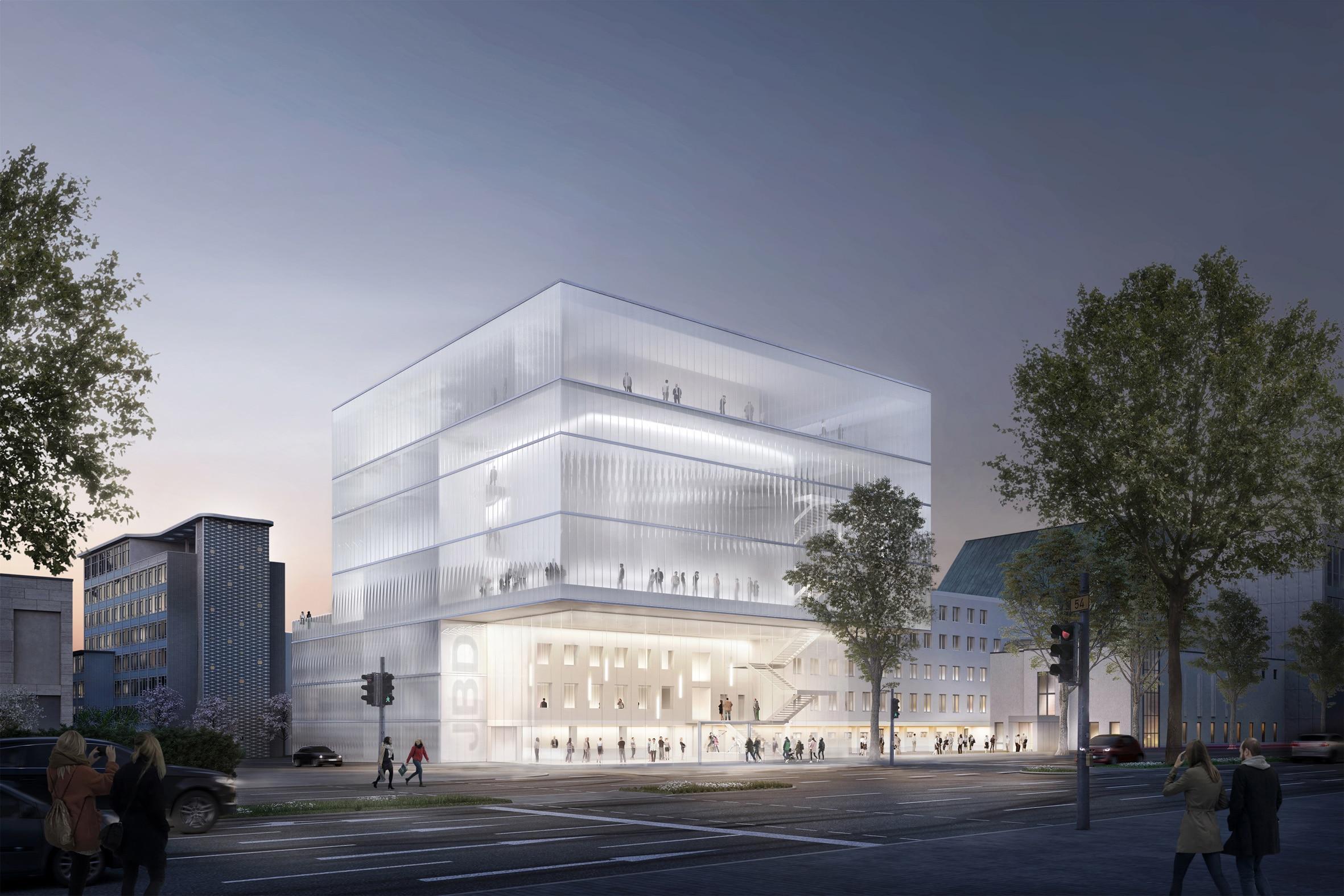 Visualisierung des Preisträger-Entwurfs. ©  SWD Architekten