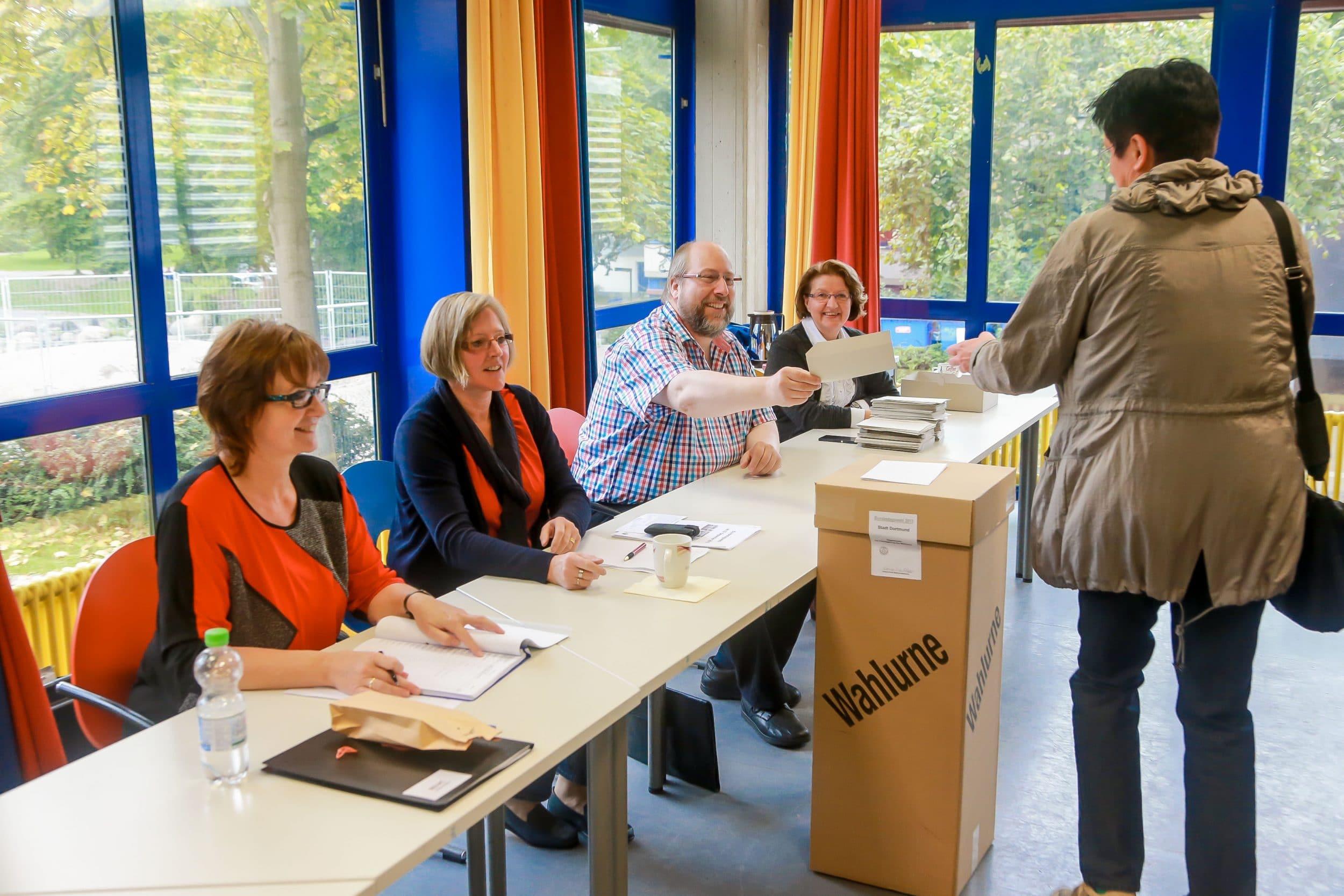 Ein Wahllokal in Dortmund-Lütgendortmund. (Archivfoto: IN-StadtMagazine)