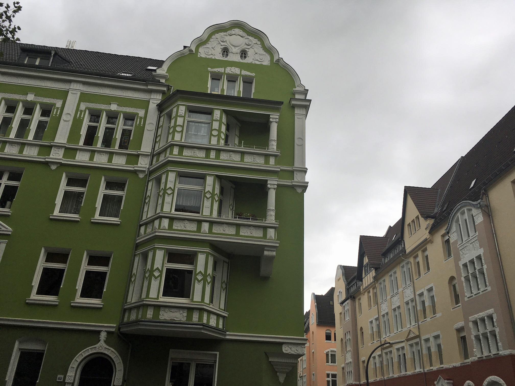 Rundgang im Kreuzviertel/Neuer Graben. (Foto: Stadt Dortmund)