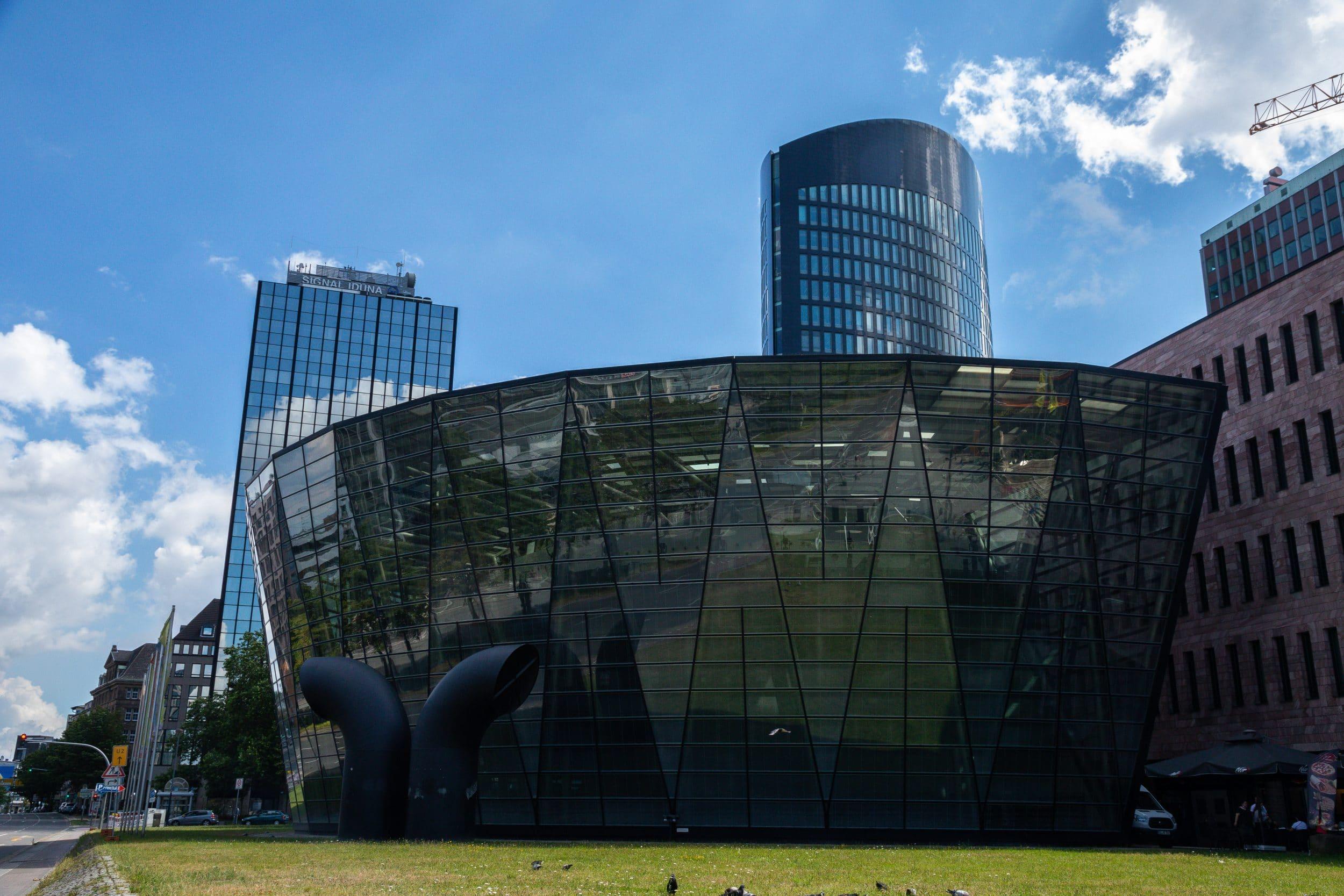 Das Studio B befindet sich in der Stadt- und Landesbibliothek: (Archivfoto: Wir in Dortmund)