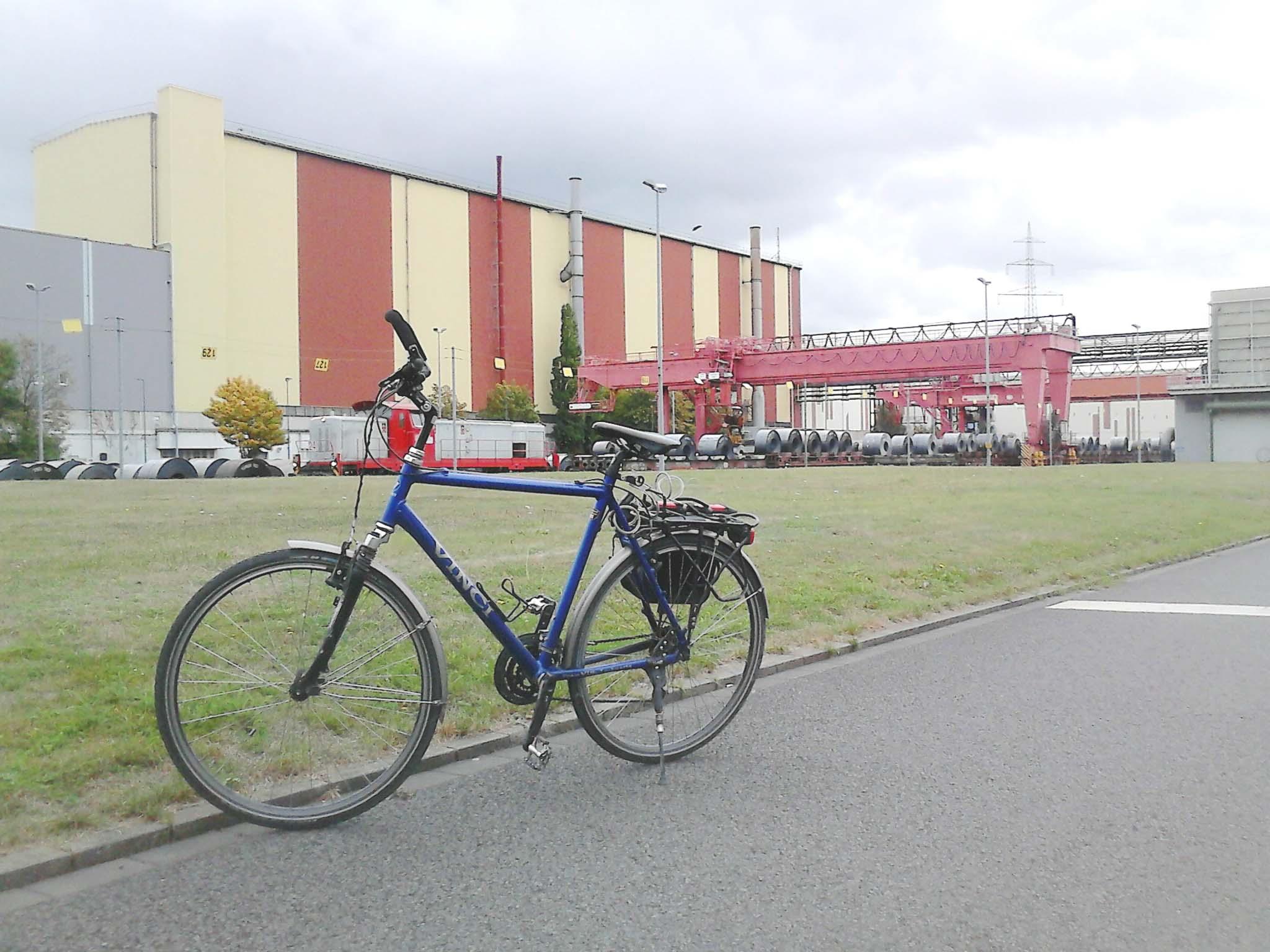 Die Fahrradtour startet am Hoesch-Museum. (Foto: Hoesch-Museum)