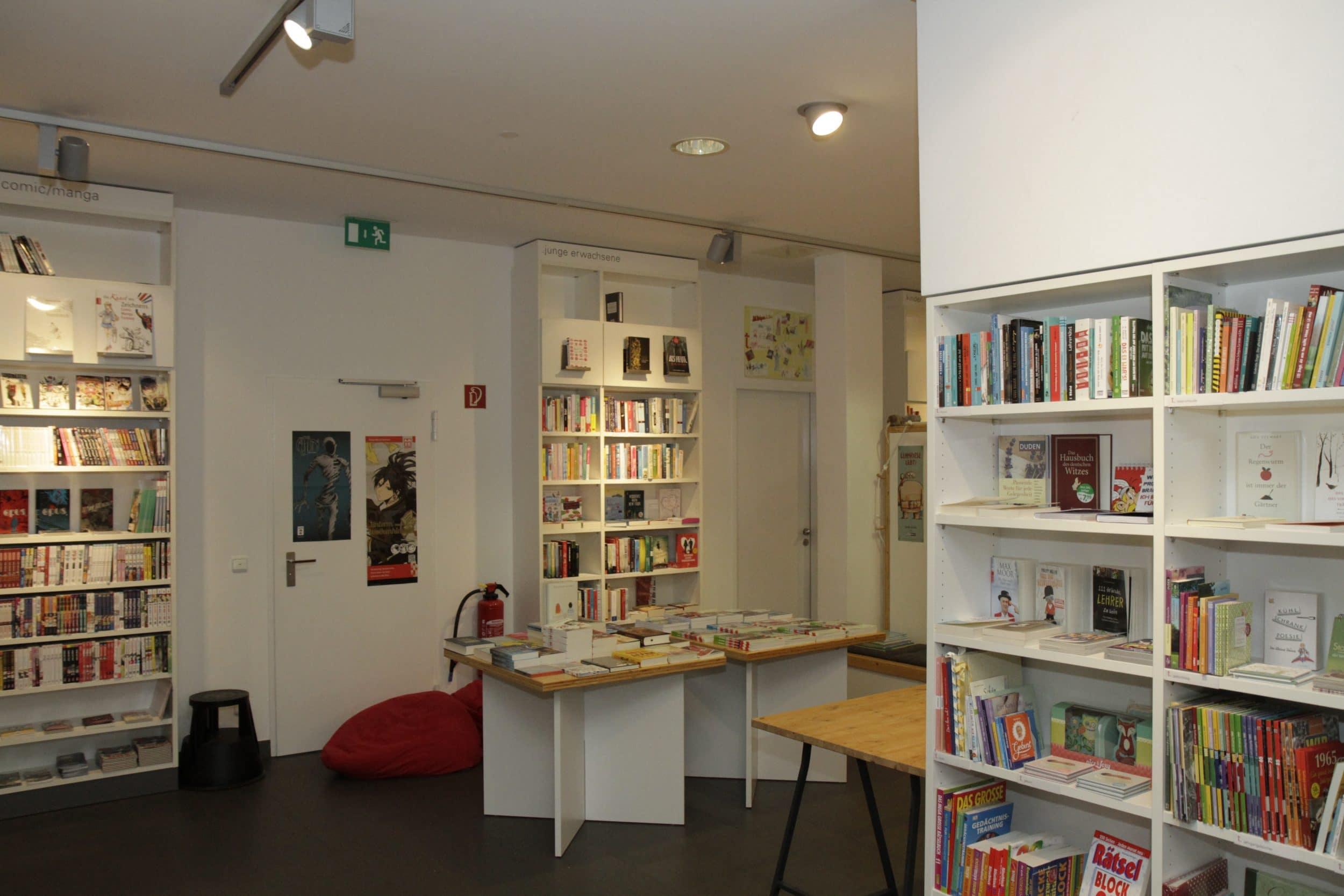 Ein Blick in die Buchhandlung (Archivfoto: Wir in Dortmund)
