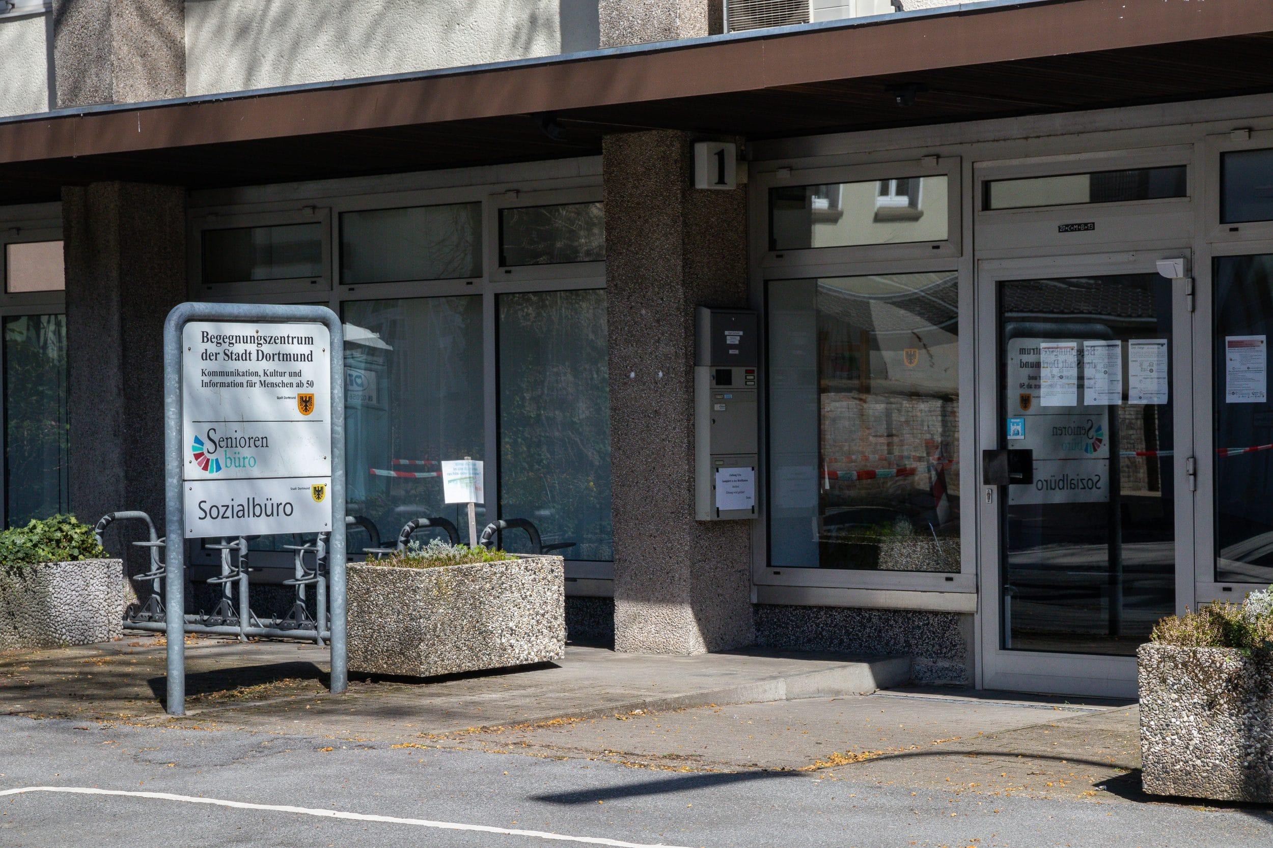 Das Städtische Begegnungszentrum Mengede in der Bürenstraße 1. (Archivfoto: Wir in Dortmund)