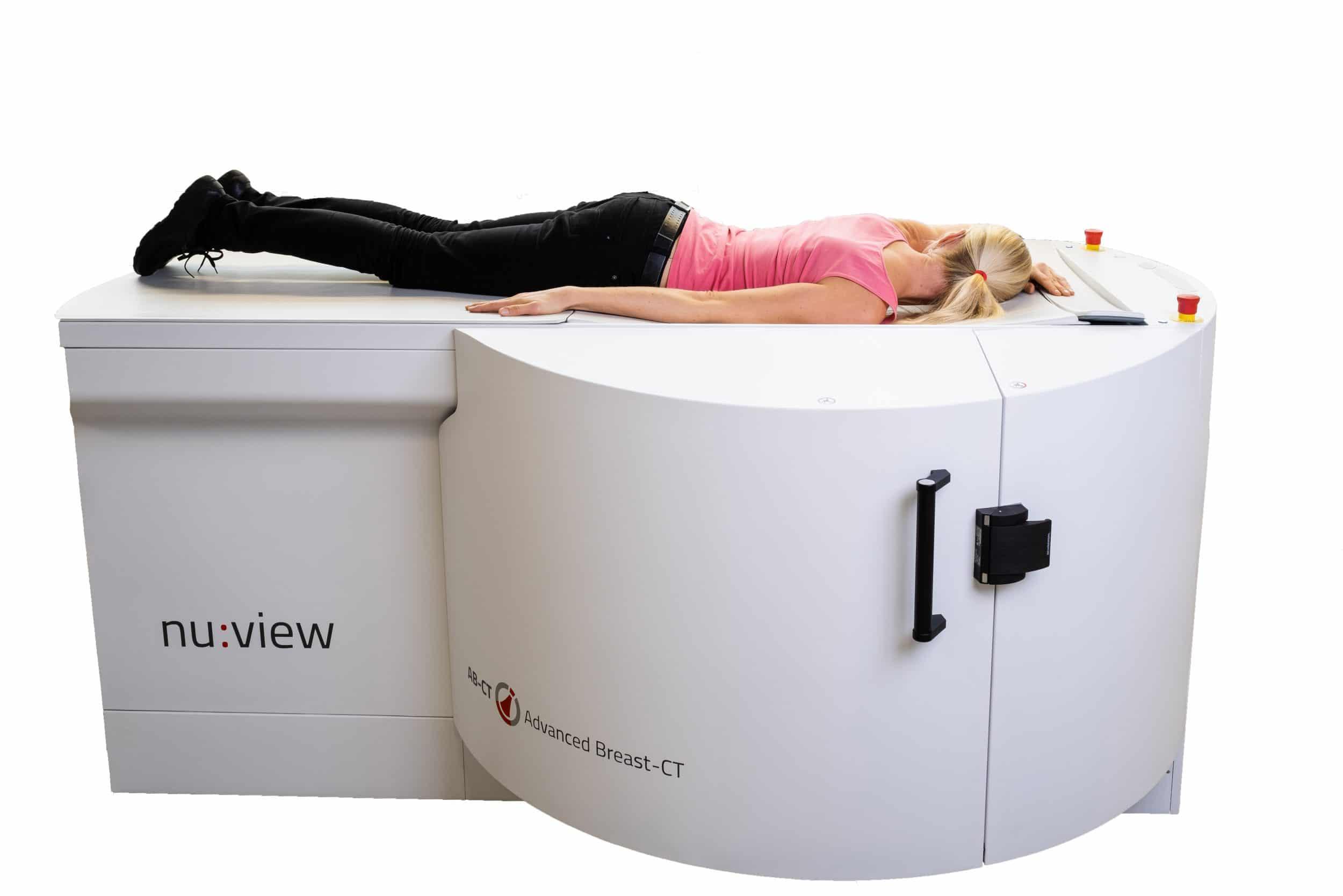Das innovative Gerät ermöglicht hochauflösende 3D-Bildqualität bei höchstem Patientenkomfort. (Foto: AB-CT – Advanced Breast-CT)