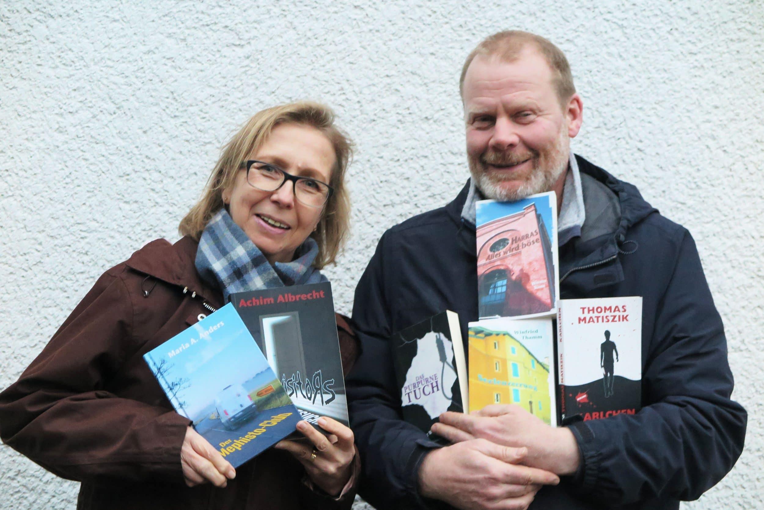 Die Verleger Elke Neumann und Georg Nies. (Foto: IN-StadtMagazine)