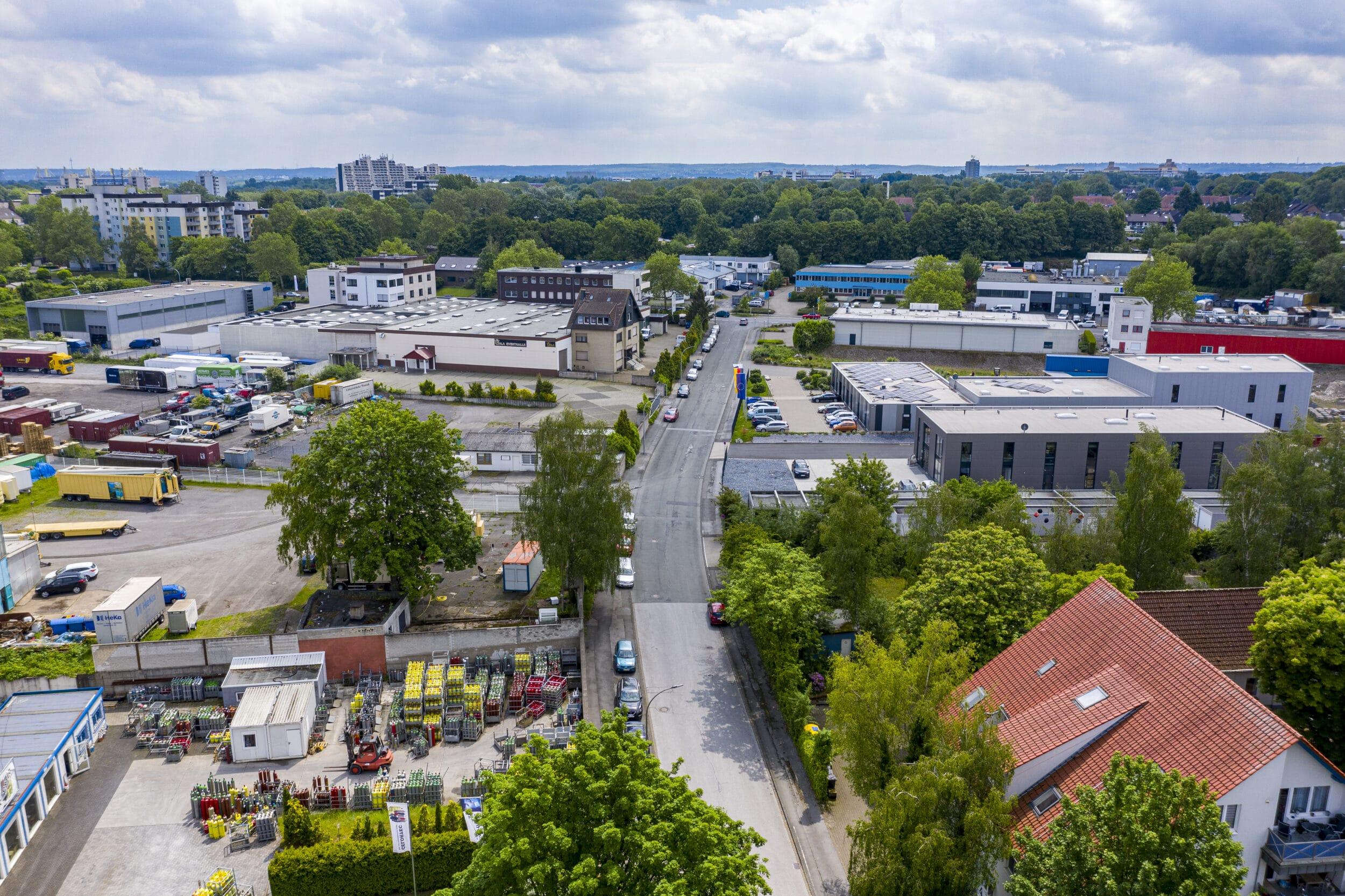 Ein Blick auf das Gebiet in Dorstfeld, das langjährige Mieter verlassen müssen. (Archivfotos: IN-StadtMagazine)