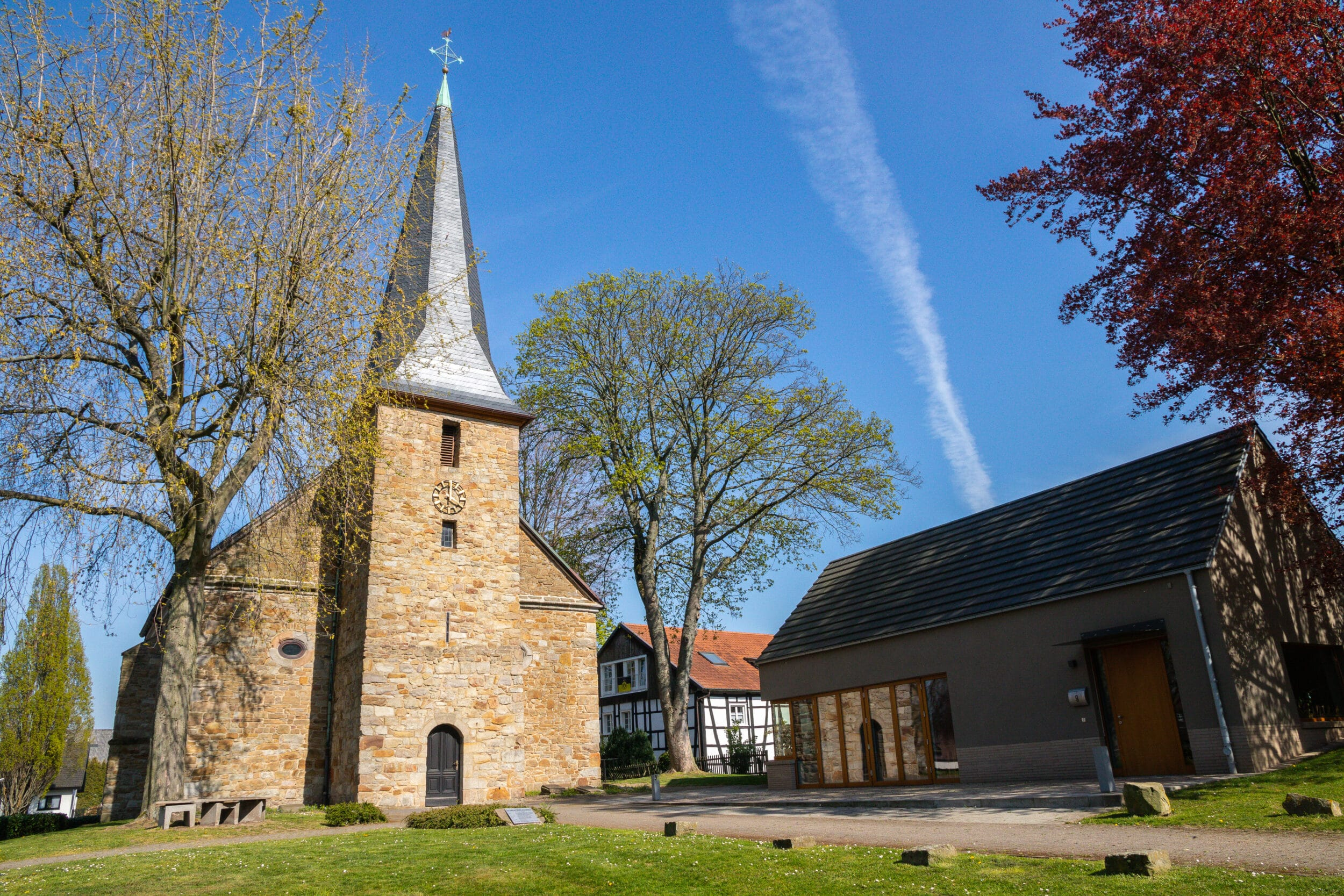 Auch die Schloßkirche Bodelschwingh wird geöffnet sein. (Archivfoto: Wir in Dortmund)