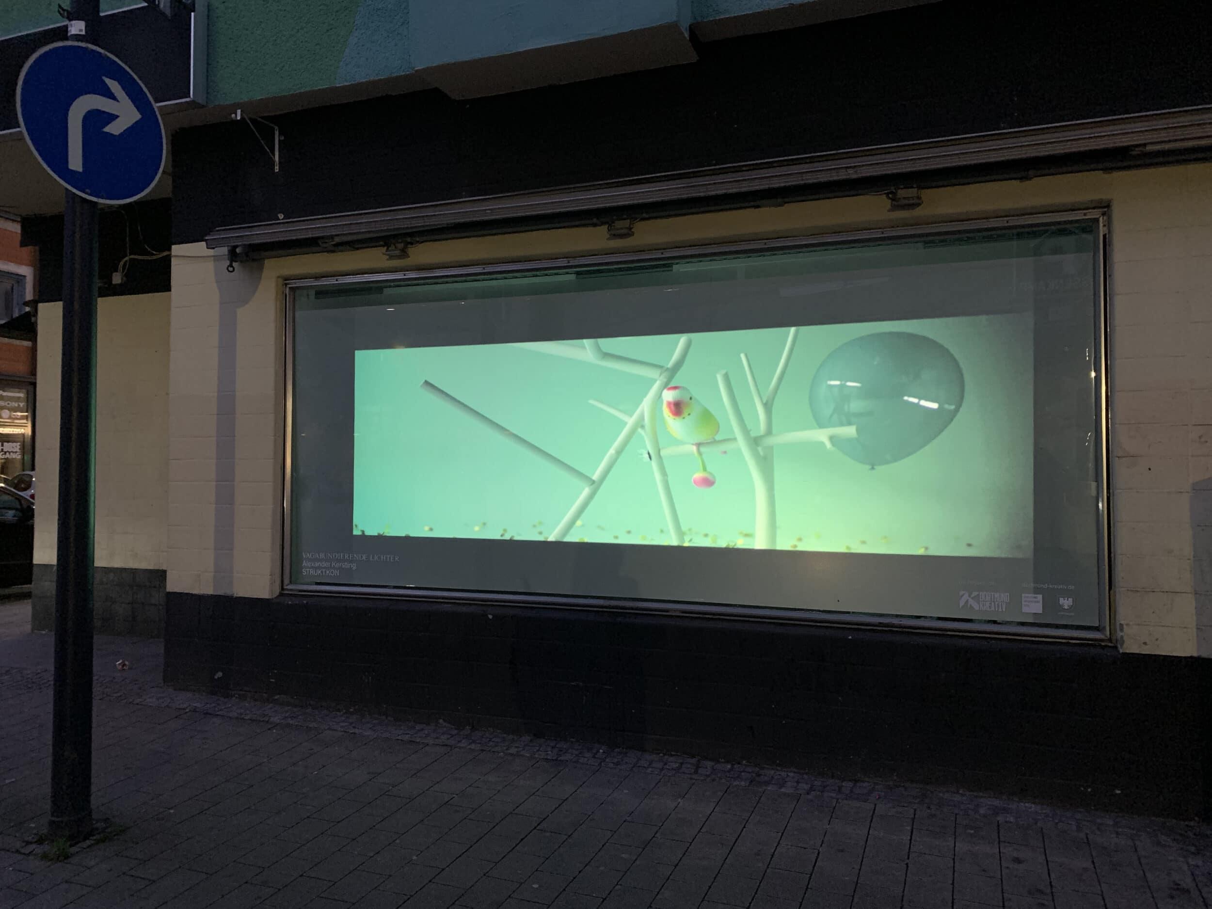Vagabundierende Lichter Alexander Kersting STRUKT.KON (Foto: Dortmund Kreativ)