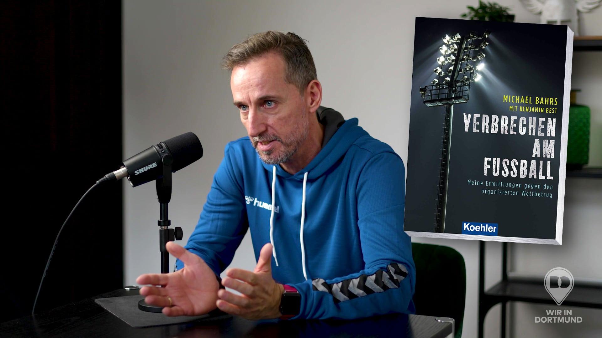 »WIR IM POD« Folge 01: Hauptkommissar Michael Bahrs zum Thema Spielmanipulationen