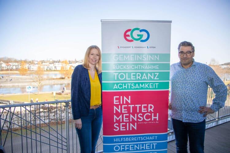 Sandra Hopf und Andreas Edelstein engagieren sich in dem Verein  EGO e. V. mit Sitz in Hörde. (Foto: Wir in Dortmund)