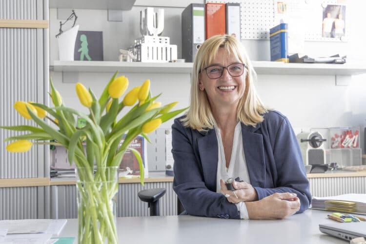 Birgit Buchholz ist neue Geschäftsführerin der BV Innenstadt-West. (Foto: Wir in Dortmund)
