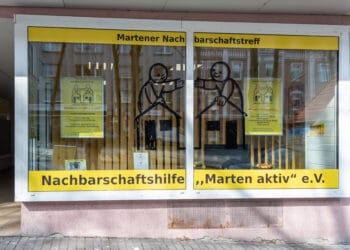 Seit April 2021 hat Marten den Martener Nachbarschaftstreff, In der Meile 1a. (Foto: Dortmund-Agentur/Roland Gorecki)