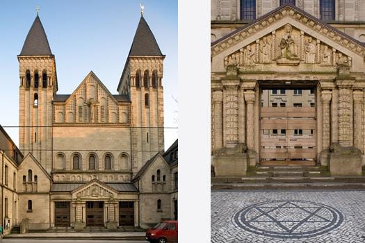 Eine markante Kirche mit wechselvoller Geschichte. (Fotos: privat)