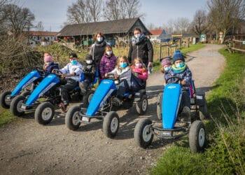 Ferienspaß bei help and hope war zur Freude der Kinder auch in Pandemie-Zeiten möglich. (Fotos: Stephan Schütze)