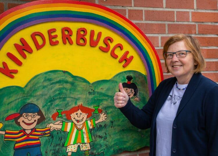 Ulrike Althaus verlässt die Kita Kinderbusch. (Foto: Wir in Dortmund)
