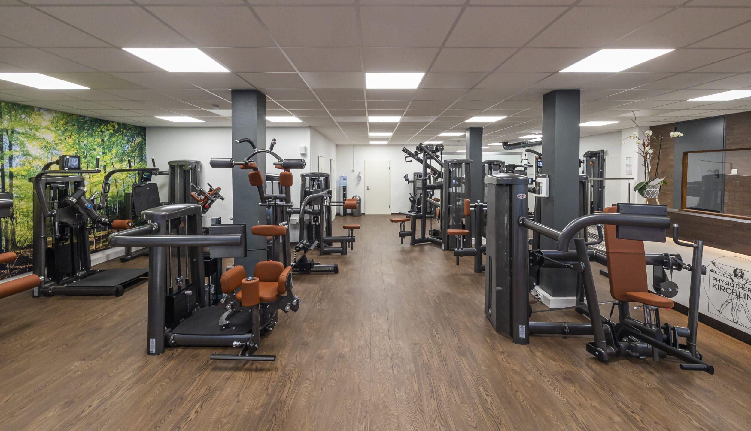 Der neu gestaltete Raum der Physiotherapie Kirchlinde (Foto: Wir in Dortmund)