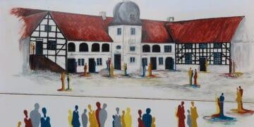 Dieses Motiv wurde von Künstlerin Anette Göke gestaltet. (Repro: Wir in Dortmund)