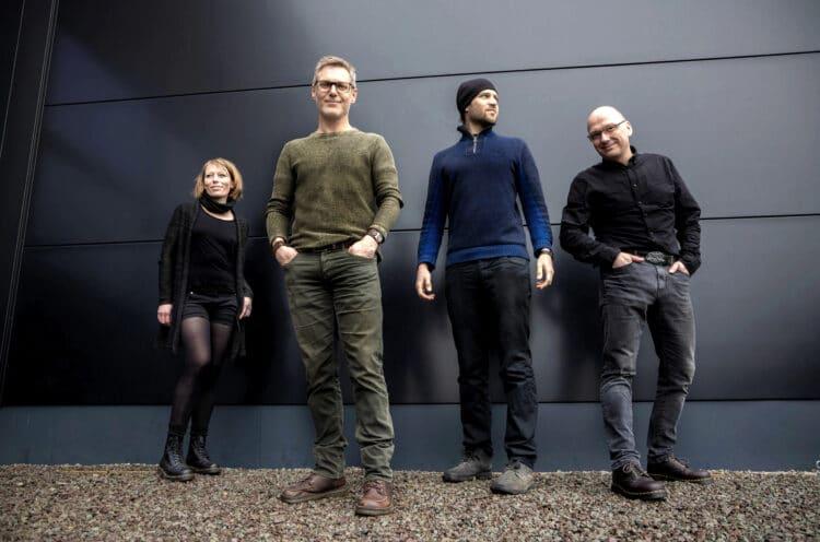 (v. l.) Nina, Oliver, Felix und Christian sind MUNE. (Foto: Wir in Dortmund)