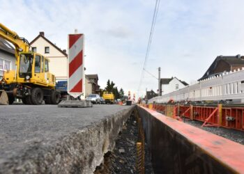 """Wegen der Erneuerung von Gleisen im Bereich der Haltestelle """"Rüschebrinkstraße"""" kommt es am 10. und 11. April zwischen Körne und Wickede auf der Stadtbahnlinie U43 zu Einschränkungen. (Foto: DSW21)"""
