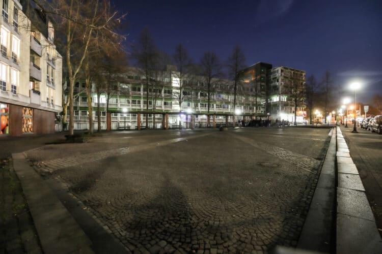 Über den Sonnenplatz wird Dortmunds erstes RS1-Teilstück verlaufen. Hier dürfen auch S-Pedelecs die Trasse nutzen. (Foto: Oliver Schaper/Wir in Dortmund)