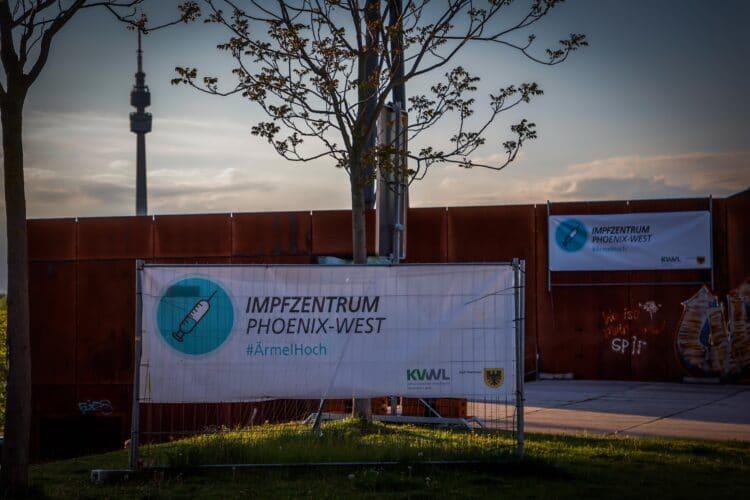 Im Impfzentrum Dortmund können im Moment keine Erstimpfungen durchgeführt werden. (Foto: Stephan Schütze/Wir in Dortmund)
