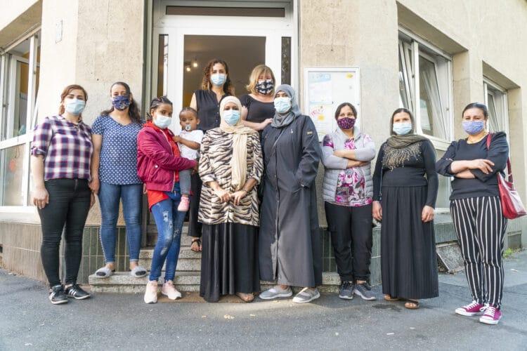 Im September verluden die Teilnehmerinnen des regelmäßigen Konversationskurses im Hörder Zentrum für Vielfalt Sachspenden für die Menschen aus dem abgebrannten Flüchtlingslager Moria. (Foto: Wir in Dortmund)